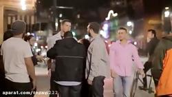 دعوا و درگیری شدید اوباش خیابانی آمریکا !!5,