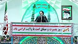 خطبه های ححت الاسلام والمسلمین عبادی در نماز جمعه