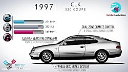 سیر تکاملی مرسدس CLK