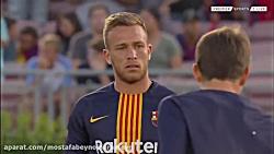 فول مچ بازی بارسلونا 2 - 2 تاتنهام؛ برد بارسا در پنالتی