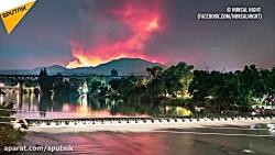 آتش سوزی های جنگلی در کالیفرنیا