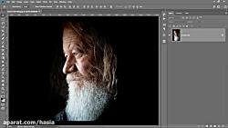 1-Minute Photoshop - Create Dramatic Black White