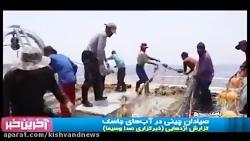 حضور صیادان و کشتی صیادی چینی در آب های خلیج فارس