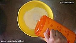 آموزش آشپزی -لذت آشپزی -طرز تهیه تورتیا