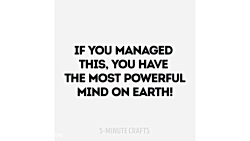 HOW POWERFUL IS YOUR BRAIN?