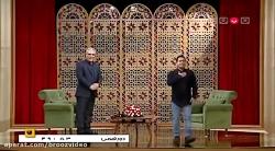 گفتگوی خنده دار سروش جمشیدی (قیمت) با مهران مدیری برنامه دورهمی