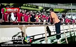 حادثه وحشتناک در ورزشگاه آزادی