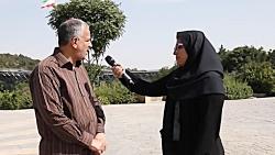 بازدید مسجد جامعی از اراضی عباس آباد