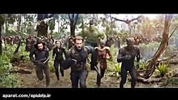 صحنه هایی از فیلم انتقام جویان : جنگ بی نهایت