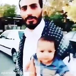 سختت نیست زن و بچه چند ماهه رو ول میکنی میری سوریه؟