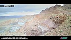 ویدئوی پروژه جاده سازی کوهستانی با دوربین تایم لپس