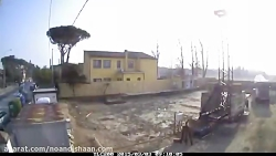 فیلمبرداری پروژه محوطه سازی ساختمانی با دوربین تایم لپس