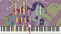Flawless – My Little Pony: FiM –Synthesia Piano Cover