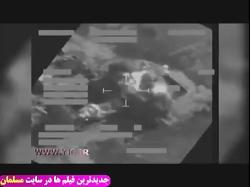 موشک باران پایگاه داعش