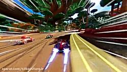 تریلر ویژگی های گیم پلی تیمی در Team Sonic Racing