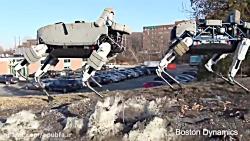 معرفی ربات اسپات : ربات چهارپای هوشمند