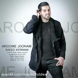 آهنگ بسیار زیبای سعید کرمانی به نام آروم جونم