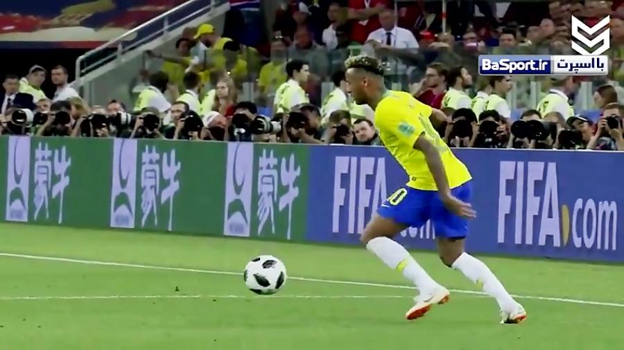 مروری بر عملکرد نیمار در جام جهانی 2018