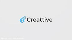 پروژه افترافکت نمایش لوگو Clean Flare Logo