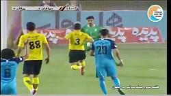 خلاصه بازی سپاهان 0-0 پیکان