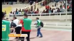 درگیری شدید هواداران در بازی پرسپولیس و استقلال