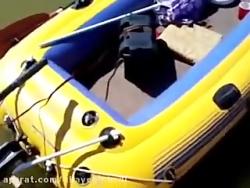 قایق بادی و تفریحی چلنج...