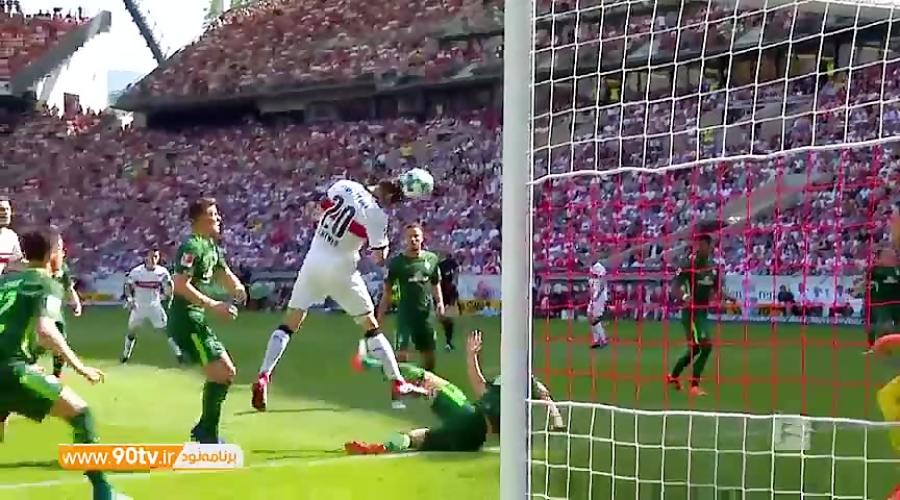 10 گل برتر با ضربه سر در بوندس لیگا 18-2017