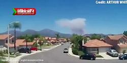 فیلمی متفاوت از آتش سوزی کالیفرنیا