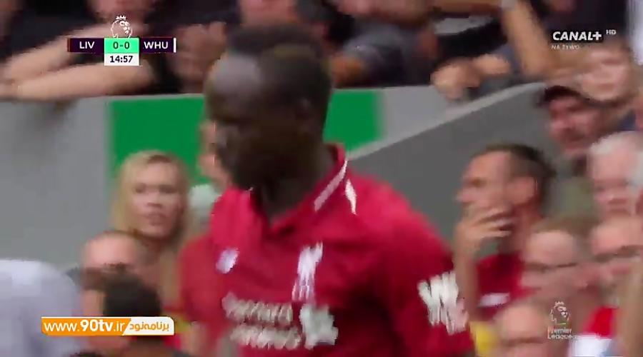 خلاصه لیگ برتر: لیورپول 4-0 وستهام