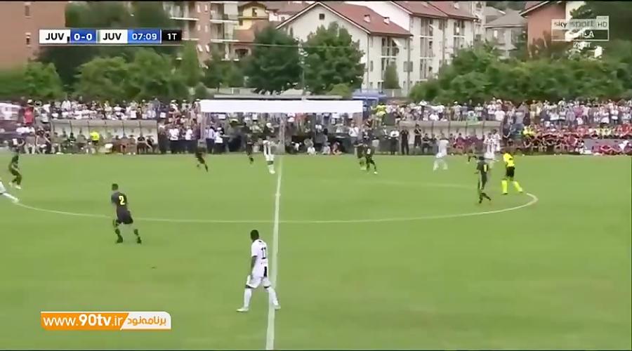 اولین گل رونالدو برای یوونتوس مقابل تیم امید یوونتوس