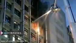 #آتش_سوزی مرگبار در #خانه_سالمندان در #تایوان که 9 کشته