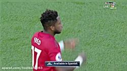 منچستر یونایتد 2 - 1 لستر...