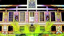 شهرداری مشهد و نورپردازی سه بعدی ماه رمضان خرداد 1397