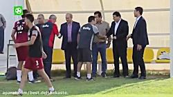 امید به موفقیت تیم ملی ...