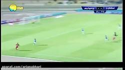 خلاصه بازی استقلال خوز...
