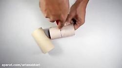 خلاقیت هنری با وسایل بازیافتی