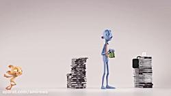 انیمیشن یکسان روبیکا