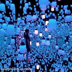 موزه هنرهای دیجیتال سه بعدی ژاپن