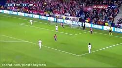 خلاصه بازی اتلتیکو مادرید 4 - رئال مادرید 2