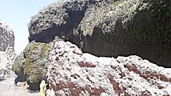 آبشار آسیاب خرابه در مرز ایران و آذربایجان