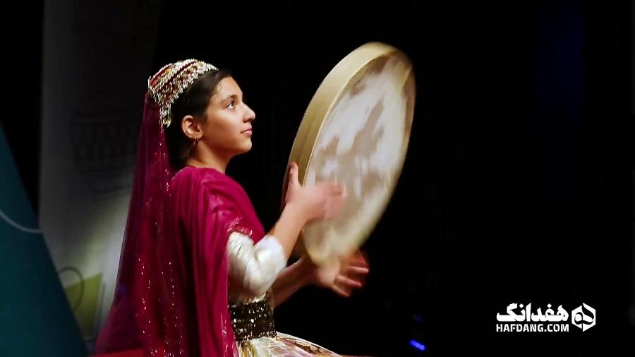 دف نوازیِ پرنیان سلیمانی، دختر 12 سالهْ اصفهانی