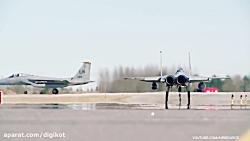 رزمایش نیروی هوایی آمریکا برای مقابله با حملات هوایی