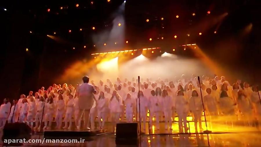 خوانندگی گروه فرشته های شهر در لایو استعدادیابی آمریکا