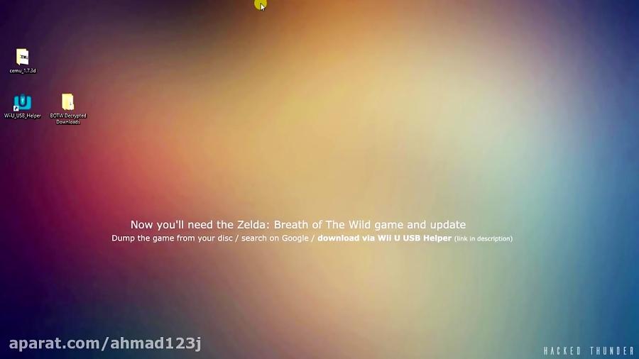 breath of the wild emulator cemu download