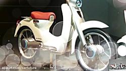 نمایی از موتورسیکلت ال...