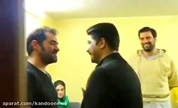 دیدار جالب شهاب حسینی و...
