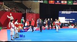 نخستین دختر قهرمان کاروان ایران بر سکو بازی های آسیایی