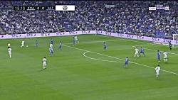 خلاصه بازی رئال مادرید 2 - ختافه 0 - هفته اول لالیگا