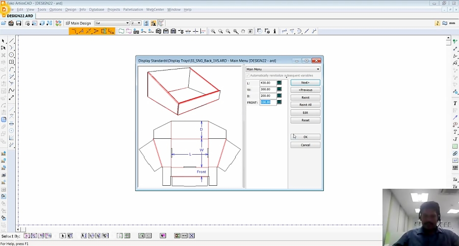 ESKO ArtiosCAD POP Display Creation - Packaging Simplified