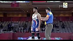 قهرمانی ایران در کشتی آسیا در 60 ثانیه !